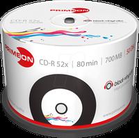 Primeon CD-R 700MB 52x 50er Cakebox