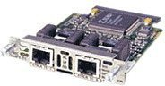 Cisco Systems Voice und WAN Interface Card, 2-Port RJ-48 Multiflex Trunk - E1/Drop+Insert
