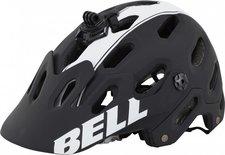 Bell Super 2 schwarz/weiß matt