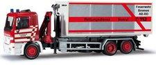 Herpa Mercedes-Benz Actros M Abrollcontainer-LKW Feuerwehr Bremen