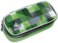 Deuter Pencil Case Green Arrowcheck