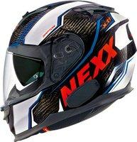 Nexx X.T1 Raptor Carbon weiß/rot