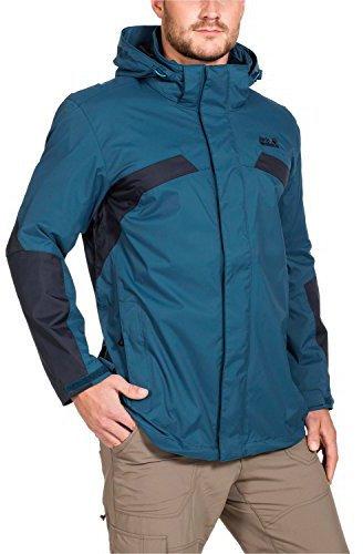 jack wolfskin topaz ii jacket men moroccan blue. Black Bedroom Furniture Sets. Home Design Ideas