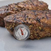 Charcoal Companion Knopf-Thermometer für Steak
