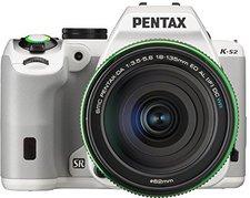 Pentax K-S2 Kit 18-135 mm weiß
