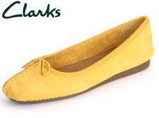 Clarks Freckle Ice honey nubuck