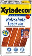 Xyladecor Holzschutzlasur 2in1 5 l Palisander