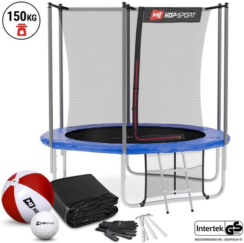 hop sport trampolin 8ft 244 cm mit innennetz preisvergleich ab 209 90. Black Bedroom Furniture Sets. Home Design Ideas
