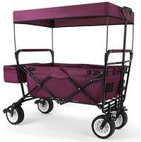 Fuxtec Transportwagen mit Sonnendach lila