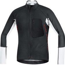 Gore Alp-X Pro Windstopper Soft Shell Zip-Off Trikot black / white