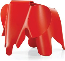 Vitra Eames Elephant Hocker classic red