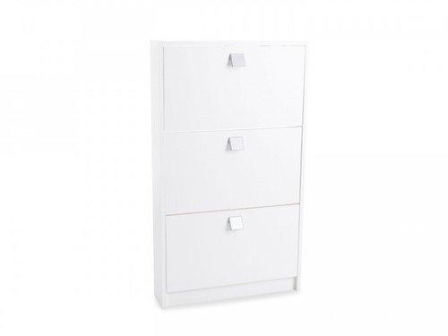 iovivo schuhschrank 3 klappen 831 003m preisvergleich ab. Black Bedroom Furniture Sets. Home Design Ideas