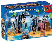 Playmobil Pirates Piraten-Schatzinsel (6679)