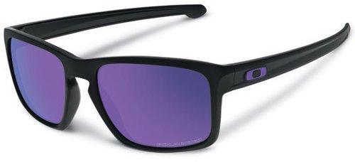 Oakley Sliver Matte Black Violet Iridium Polarized 2017 - Einheitsgröße OtOUN