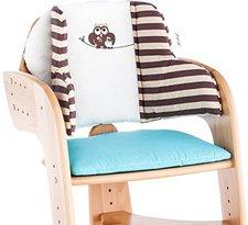 Herlag Sitzpolster für Tipp Topp Comfort IV Eule beige/blau