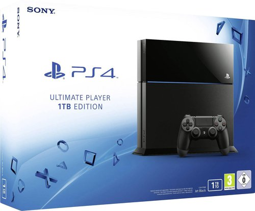 sony playstation 4 ps4 ultimate player 1tb edition. Black Bedroom Furniture Sets. Home Design Ideas