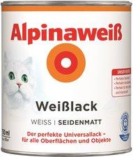 Alpina Farben Alpinaweiß Weißlack 750 ml seidenmatt