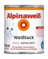 Alpina Farben Alpinaweiß Weißlack 2 l seidenmatt