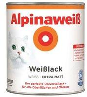 Alpina Farben Alpinaweiß Weißlack 2 l