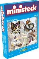 Ministeck Tierfreunde 4 in 1