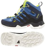 Adidas Terrex Mid GTX K super blue/core black/solar yellow