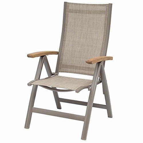 sieger toledo klappsessel alu textil auf bestellen. Black Bedroom Furniture Sets. Home Design Ideas