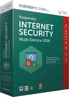 Kaspersky Internet Security 2016 Multi Device (3 User) (1 Jahr) (Multi) (Win/Mac) (Box)