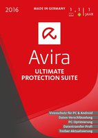 Avira Ultimate Protection Suite 2016 (1 User) (DE) (Win) (Box)