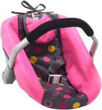 Bayer Chic Puppen-Autositz -funny pink