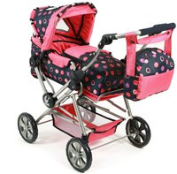 Bayer Chic Road Star Puppenwagen - corallo