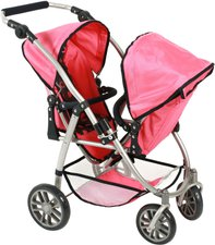 Bayer Chic Vario Tandem-Buggy - corallo