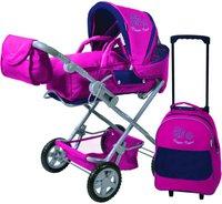 Knorr Luke mit Trolley - Eule Olga pink