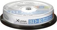 Xlayer BD-R DL 50GB 6x 10er Cakebox