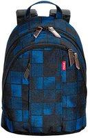 4You Legend Mini Backpack squares blue