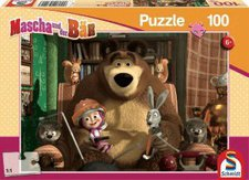 Schmidt Spiele Mascha und der Bär Filmabend