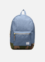 Herschel Settlement Backpack navy crosshatch/woodland camo