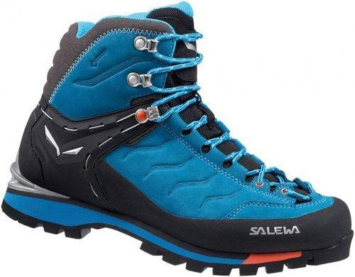 Salewa RAPACE GORE-TEX - HALBHOHER BERGSCHUH HERREN, Damen Trekking- & Wanderstiefel, Blau (Crystal/Clementine 2411), 40.5 EU (7 Damen UK)