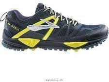 Brooks Cascadia 10 midnight/sulphur spring