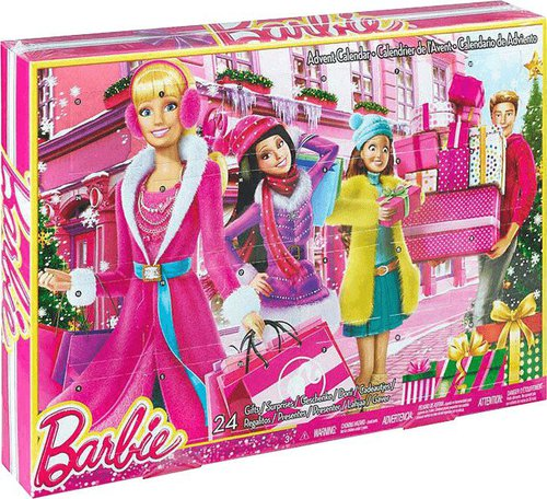 Mattel CLR43 Barbie Adventskalender 2015