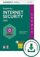 Kaspersky Internet Security 2016 + Android Security (1 User) (1 Jahr) (DE) (Win) (ESD)