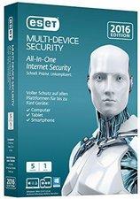 ESET Multi Device Security 2016 (5 User) (DE) (...