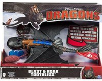 Spin Master DreamWorks Dragons - Blast'n Roar Toothless