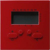 Gira S-Color RTR Uhr rot