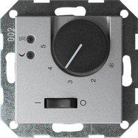 Gira System 55 RTR + Sensor FB alu