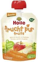 Holle Pouchy Apfel mit Karotte & Pastinake (90g)