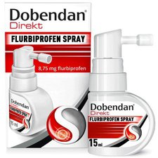 Reckitt Benckiser Dobendan Direkt Flurbiprofen 8,75mg Spray (15 ml)