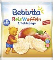 Bebivita Reiswaffeln Apfel Mango (35g)