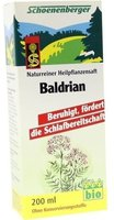 Duopharm Schönenberger Säfte Baldrian (200 ml)