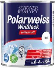 Schöner Wohnen DurAcryl Professional Weißlack seidenmatt 750 ml