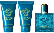 Versace Eros Set (EdT 50 ml + SG 50 ml + ASB 50 ml)